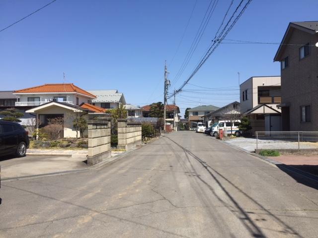 開発道路に繫がる隣接道路 H31.4撮影(周辺)