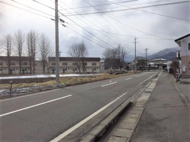 分譲地に面する道路 H31.2撮影